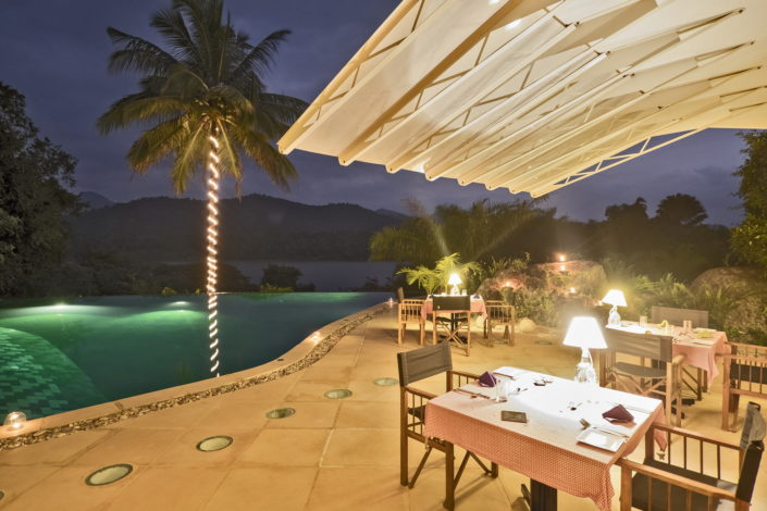 Evenings at Bougainvillea Retreat Kandy