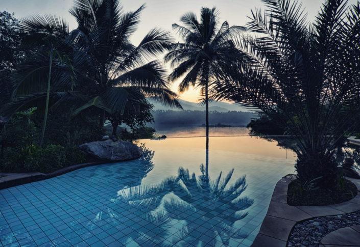 Swimming Pool Bougainvillea Retreat Kandy