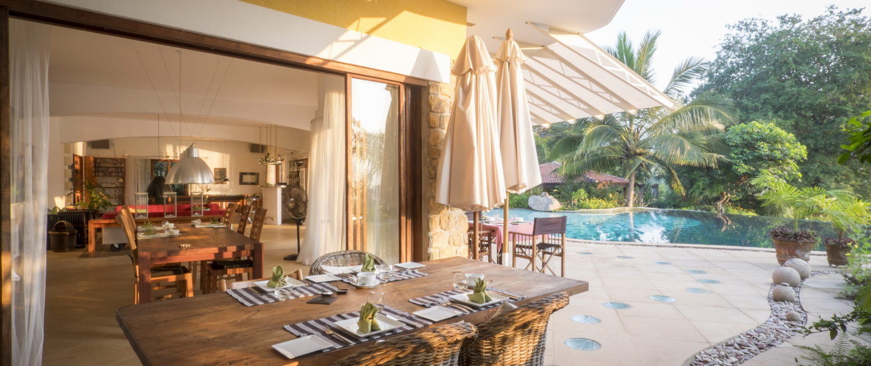 Dining Bougainvillea Retreat Kandy