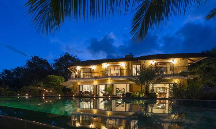 Evening at Bougainvillea Retreat Kandy