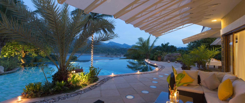 Evenings at Bougainvillea Retreat Kandy
